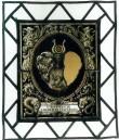 Vitraazh bürgermeister Woldemar Mayeri vapiga. 1876 (klaasimaal). Foto: J.Heinla 2002