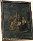 """Maal """"Jeesuslapse kummardamine"""". N. P. Pahl, 1799 (õli, lõuend). Foto: J.Heinla 2002"""