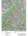 Tallinna uusaegsed linnakindlustused lõplikul kujul ca 1800. Autor: R. Nurk 2020. Alus: Maa-ameti ortofoto.