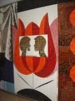 Pannoo «Noorus». E. Põldroos, 1969 (keraamiline mosaiik).Detail Foto: S.Simson 07.06.2007