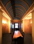 Katusekorruse ajalooline väike koosolekute ruum. Foto: H. Kuningas, 2021