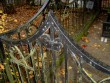 Perekond Reimelti matmispaiga piirdeaed. L. Truberg, 20. saj. I veerand (raud). Detailvaade Foto: Sirje Simson 17.10.2007