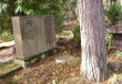 Perekond Luide-Vettiku hauasammas. A. Vomm, 1930. aastad (graniit) Foto: Sirje Simsoni foto 08.10.2007