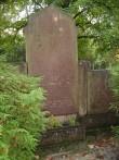 Hans Suklesi perekonna hauasammas. K. Lüüs, 1930. aastad (graniit) Foto: Sirje Simson 17.10.2007