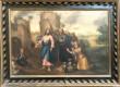 """Maal """"Jeesus ja Kaanani naine"""". 18. saj. (õli, lõuend). Foto: Jaanus Heinla 2002"""
