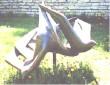 """Skulptuur """"Kajakad"""". J. Eskel, 1971 (pronks) Foto: enne 1995"""