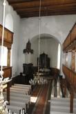 Põltsamaa kiriku sisevaade. Ü.Jukk, 16.03.2010