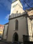 Oleviste kiriku lõunakabel pärast restaureerimist. Foto: Eero Kangor, 19.10.2021