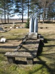 Toila kalmistu. Tõnis Taavet. 15.04.2010.