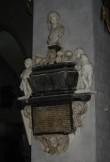 J. Hastferi epitaaf. N. Millich (?), 1676 (marmor). Foto: Sirje Simson, 29.04.2006
