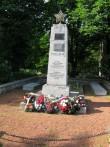 II Maailmasõjas hukkunute ühishaud. Tõnis Taavet, 01.07.2009.