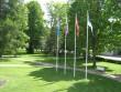 Vihula mõisa park, 15953. vaade peahoone lõunapoolselt  rõdult    aeg: 10.06.2010 autor: Anne Kaldam