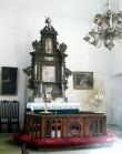 Haapsalu Jaani kirik, altar    Autor Tõnis Padu    Kuupäev  10.04.2003