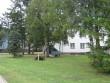 Rakvere ühisgümnaasiumi hoone :15739. vaade koolimaja põhjaküljele- katuseplekile-tormikahjustused 08.08.2010 Autor Anne Kaldam  Kuupäev  09.08.2010
