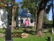 Väike-Maarja kirikuaia kabel : 16108 vaade lõunast tormikahjustustesed on põhiliselt koristatud  Autor Anne Kaldam  Kuupäev  01.09.2010