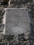 Vao mõisa tuuleveski, 16093, vaade lõunast, detail - mälestise tähis Autor. Anne Kaldam Kuupäev  01.09.2010