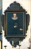 M. Frosa portree-epitaaf. 1650 (õli, lõuend). Foto: J. Heinla 2002