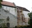 Kiriku kooriruumi katuse restaureerimistööd. Foto: Sille Sombri 21.09.2010