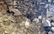 Toomkiriku võlvikannas asuv veesüliti, kirikusaali ulatuvad veesüliti otsad on maha raiutud ja avad kinni krohvitud Tõnis Padu foto 18. aprill 2010