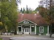 Palmse mõisa supelmaja :15906 vaade edelast , ees näha estraad ja välikohvik,   Autor Anne Kaldam  Kuupäev  23.09.2010