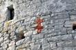 Aiatorn, ristimärk torni välisküljel. Tõnis Padu foto 16. märts 2010