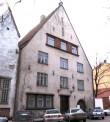 """Maja, kus 1870.aastatel tegutses laulu- ja mänguselts """"Estonia"""""""