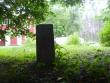 Graniitpost hauakambri juures  Autor Tarvi Sits  Kuupäev  25.07.2005