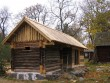 Kaarli talu heinakuur :  vaade lõunast, taamal paremal heinakuur  Autor Anne Kaldam  Kuupäev  22.10.2010