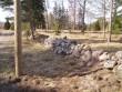Pihlaspea kalmistu, reg. nr 5796. Vaade lõunast. Foto: E. Ohov, kuupäev 05.05.2005