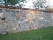 Väimela mõisa piirdemüürid, 19 saj. II pool. Foto Tõnis Taavet, 26.10.2010.