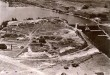 Vaade linnusele põhjast. Õhufoto 1930. aastatest.