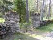 Kalmistu kirdekülje värav  Autor Kalli Pets  Kuupäev  24.05.2005