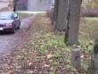Pargitee ääres on säilinud ümmargused graniitpostid. Viktor Lõhmus 24.10.2007