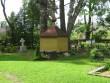 Kalmistu eesmin eosa koos endise kiriku asukoha märgiga. Viktor Lõhmus 09.06.2009