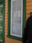 Viru-Nigula pastoraadi peahoone :16059, vaade restaureeritud aknale  Autor ANNE KALDAM  Kuupäev  18.02.2011