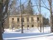 Pada mõisa peahoone varemed :16029 otsavaade , vaade lõunast  Autor Anne Kaldam  Kuupäev  28.02.2011