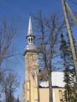 Simuna kirik, 15621, vaade tornile lõunast    pilt: AnneKaldam aeg: 14.03.2011