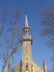Simuna kirik, 15621, vaade tornile läänest    pilt: AnneKaldam aeg: 14.03.2011