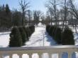 Sagadi mõisa park : 15929, vaade peahoone terrassilt lõuna suunas.  Autor Anne Kaldam  Kuupäev  16.03.2011