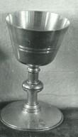 Karikas. 19. saj. (valge metall, kullatud). Paul Sorokini foto, 1977