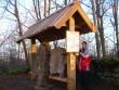 Infoalus kirikuaias. Foto: Lilian Hansar, 29.11.2006.