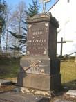 Otto von Kotzebue hauatähis. Fotot: Ly Renter 2011