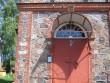 Vaade sissepääsule. Selle kõrval mälestise tähis. Viktor Lõhmus 03.06.2011