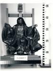 """Skulptuur """"Kristus kohtumõistjana"""". Tundmatu, nn. Kreutzaltari meister, Lübeck, 16. saj. veerand (puit, polükroomia) Foto: Fridrik Bertelsten 1998"""