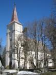 Kullamaa kirik ja kalmistu, vaade lõunast Kalli Pets 19.04.2011