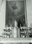 Altar (mensa ja tabernaakel. 19. saj. (õli, puit) Foto: Paul Sorokin, 1977