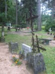 Kärla kalmistu.Foto: R. Peirumaa, 6.09.2011