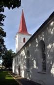 Haapsalu Jaani kirik, läänekülg. Pildistatud 26. august 2011. T.Padu foto