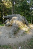 "Skulptuur ""Lohe"" (ka ""Krokodill""). N. v. Glehn, u. 1908 (graniit, segu) fOTO: Sirje Simson 24.09. 2006"