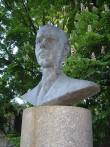 Paul Kerese monument. E. Väli, H. Kreis ja A. Siim, 1991 (pronks, graniit).Detailvaade Foto: Sirje Simson 12.06.2006